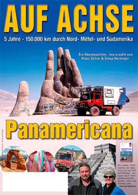 """Plakat Vortrag/Film """"Panamericana"""" - auf-achse.tv"""
