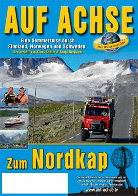 """Plakat Vortrag/Film """"Zum Nordkap"""" - auf-achse.tv"""