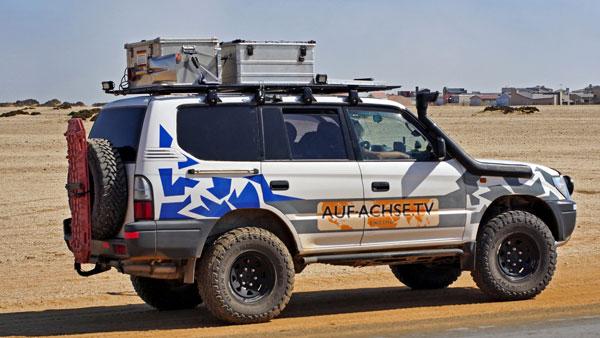 Fahrzeug Toyota Landcruiser KJ95 - auf-achse.tv