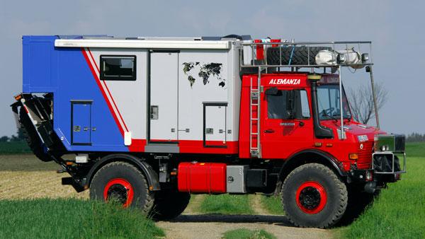 Fahrzeug Unimog 2450 L38 - auf-achse.tv