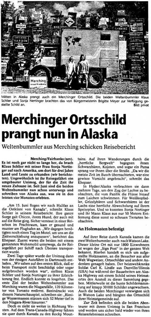 Publikation - Zeitungsartikel 2