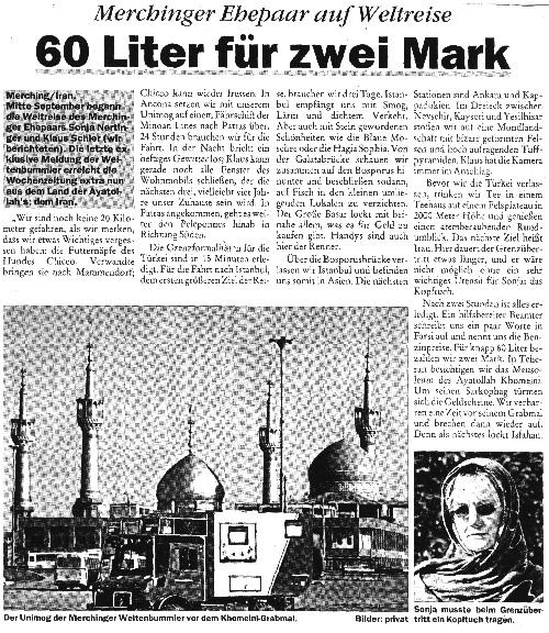 Publikation - Zeitungsartikel 10