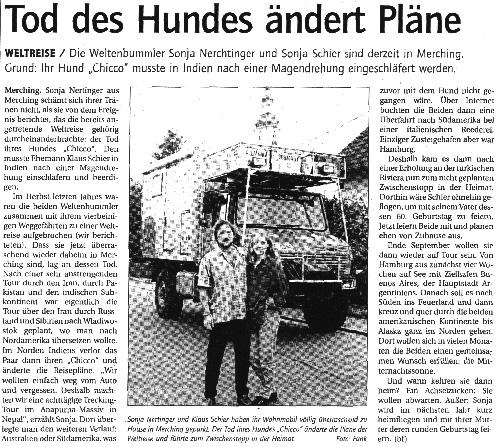 Publikation - Zeitungsartikel 12