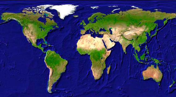 Weltkarte auf-achse.tv