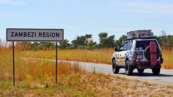 Weltreise Etappe Afrika - Zambezi Region
