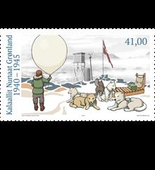 Weltreise Etappe Grönland - Bild 7 - Briefmarke