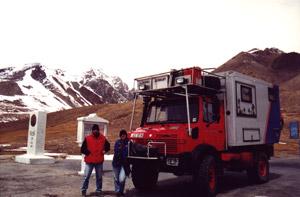 Weltreise Etappe Landweg nach Indien - Klaus Schier und Sonja Nertinger