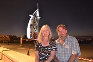 Weltreise Etappe Nahost-Arabien - Sonja Nertinger und Klaus Schier