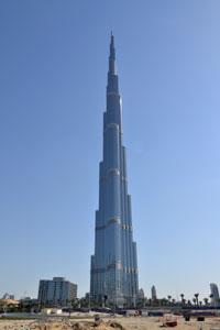 Weltreise Etappe Nahost-Arabien Burj Khalifa