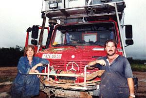 Weltreise Etappe Südamerika - Sonja Nertinger und Klaus Schier