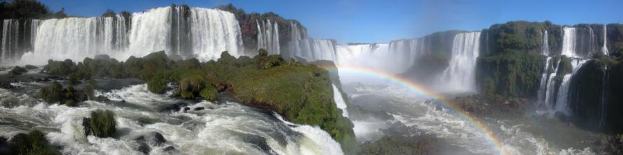 Weltreise Etappe Südamerika - Iguazu-Wasserfälle