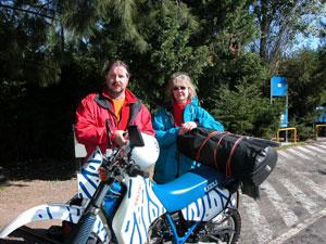 Weltreise Etappe Südamerika - Klaus Schier und Sonja Nertinger
