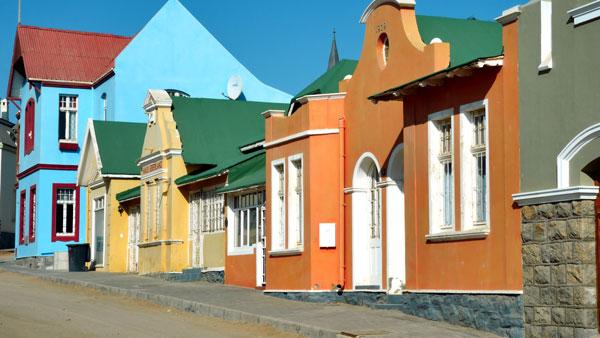Weltreise Etappe Afrika - Lüderitz