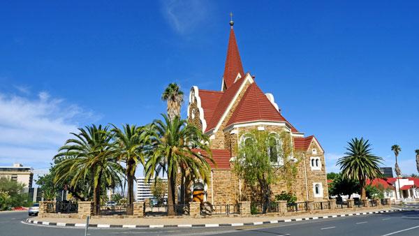 Weltreise Etappe Afrika - Christuskirche Windhoek