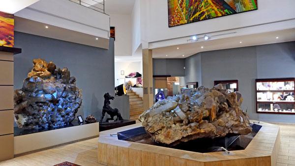 Weltreise Etappe Afrika - Namibia - Kristallgalerie