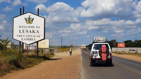 Weltreise Etappe Afrika - Sambia - Lusaka