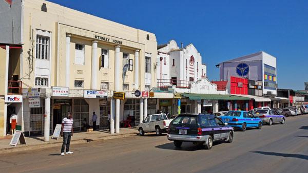 Weltreise Etappe Afrika - Sambia - Livingstone