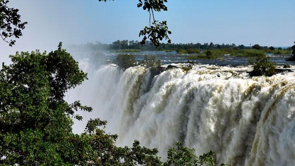 Weltreise Etappe Afrika - Viktoriafälle