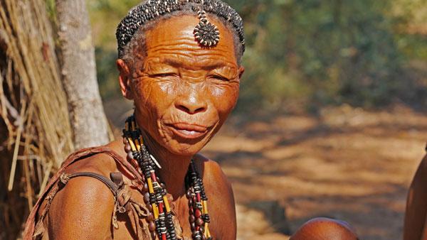 Weltreise Etappe Afrika - Namibia - San