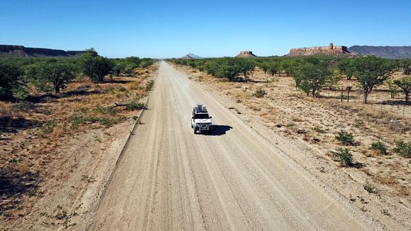 Weltreise Etappe Afrika - Damaraland