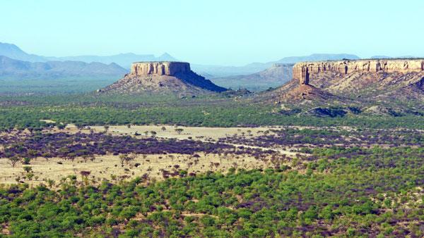 Weltreise Etappe Afrika - Ugab-Terrassen